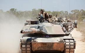 Picture tank, M1A1, armor, Abrams, Abrams