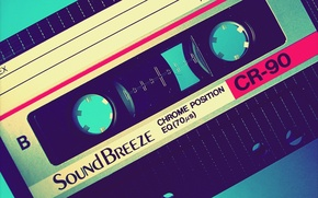 Wallpaper Retro, Sound Breeze, Cassette