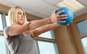 Picture ball, workout, fitness, training