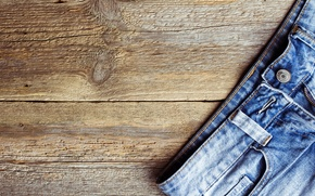 Picture wood, jeans, floor, fabric
