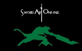Picture Sword Art Online, Kirito, SAO, CAO, Kirito, Sword Art Online