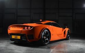 Picture sportcar, garage, back, jorange, Ginetta, g60