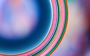 Picture color, paper, circumference