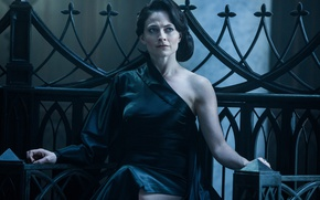 Picture cinema, Underworld, dress, movie, vampire, brunette, film, Lara Pulver, Underworld: Blood Wars, Blood Wars