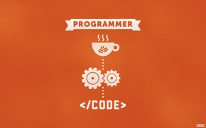 Picture code, Programmer, the program, code, HTML