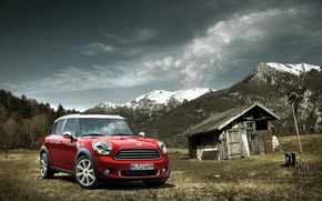 Picture nature, BMW, German, cars, auto, wallpapers, wallpapers auto, Wallpaper HD, MINI Countryman, MINI