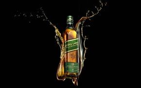 Picture Whiskey, Johnnie Walker, Green Label