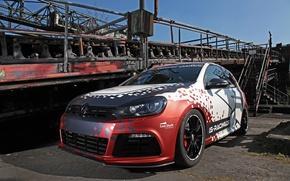Picture Volkswagen, Racing, Golf, Cam, Shaft, Haiopai
