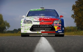 Picture Asphalt, Strip, Rally, Sebastien Loeb, Citroen, Road