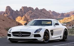 Picture Mercedes, Benz, AMG, SLS