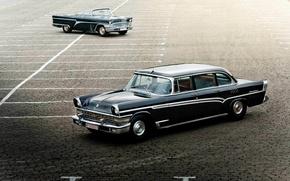 Picture auto, retro, Wallpaper, Seagull, wallpaper, classic, GAS, ZIL, 111