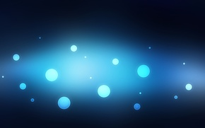 Picture circles, abstraction, background, abstraction, Bubbles, Texture, blue background, wallpapers