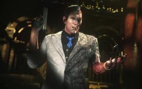 Picture gun, Two-faced, Gotham, Batman:Arkham Knight