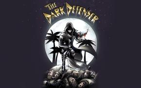 Picture stars, night, blood, hero, knife, hood, Dexter, the series, cloak, corpses, killer, comics, Dexter, defender, …