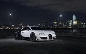 Picture Bugatti, Bugatti, Veyron, Veyron, Supercar, Super, Sport, Supercar, Blanc, Pur, The form, PUR