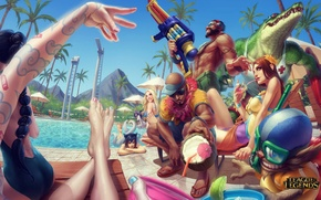 Picture pool, party, lol, League of Legends