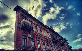Wallpaper Odessa, the sky, the building, building one wall