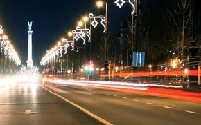 Wallpaper Avenue, Lights, The evening