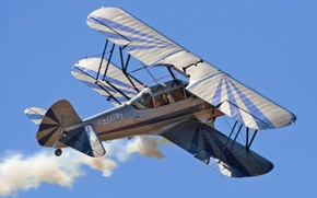 Picture the plane, biplane, PR13D