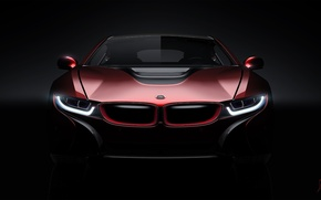 Picture Concept, BMW, Light, Red, Car, Front
