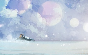 Picture winter, snow, Alaska, metal gear solid, snowmobile, north, mgs, Meryl Silverburgh, solid snake, Shadow Moses …