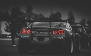 Picture tuning, GTR, Nissan, back