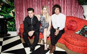 Picture photographer, London Grammar, Hannah Reid, Dominic Major, Dan Rothman, Kava Gorna, American Vogue