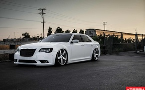 Picture silver, matte, Chrysler 300 C vvs, machined, 22x9, 22x10, 5-7648-b, cv3