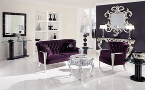 Picture design, room, sofa, furniture, chair, chandelier, living room