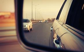 Picture road, machine, Russia, Toyota, Harrier, chayzer, Yakutsk