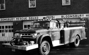 Picture Dodge, Dodge, rarity, 1968, fire truck, Firetruckm, Power Wagon