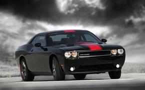 Picture Dodge Challenger, Black, Rallye Redline