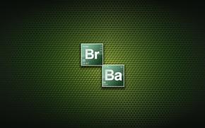 Picture green, logo, texture, Breaking Bad, chemistry, Bryan Cranston, Walter White, Aaron Paul, Jesse Pinkman, TV …