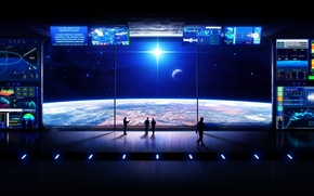 Picture space, travel, beautiful, harmony, space station