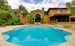 Picture Villa, pool, architecture, exterior