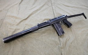 Picture weapons, machine, Russia, small, 9A-91