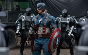 Wallpaper the film, shield, The First Avenger, captain america, captain America