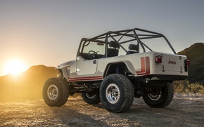 Wallpaper CJ-8, SUV, jeep, Scrambler, Jeep