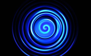 Picture light, Wallpaper, color, spiral, ring