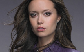 Picture Girl, famous actress, Summer Glau, photo close, disclosed lip
