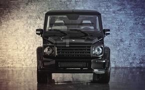 Picture Mercedes-Benz, before, G55, front, g class, gelandewagen