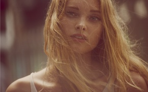 Picture eyes, model, blonde, girl, grey, model, beauty, blonde, elsa hosk, Elsa hosk, Swedish