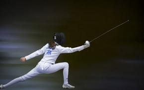 Wallpaper sport, sword, background