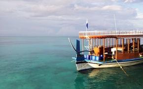 Picture tropics, island, Maldives