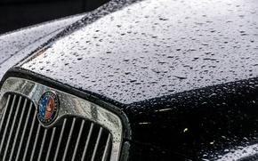 Picture machine, background, rain