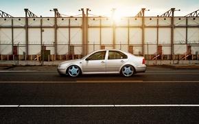 Picture volkswagen, profile, Volkswagen, jetta, MK4