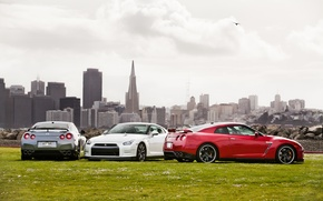 Picture the city, glade, Nissan, nissan gtr