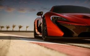 Picture supercar, the front, McLaren, mclaren p1, bahrain