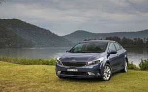 Wallpaper sedan, Kia, Kia, cerate, Cerato