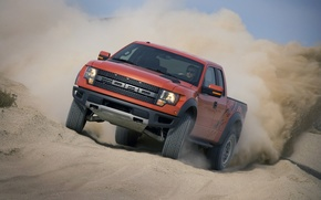 Picture sand, ford, raptor, svt, f-150